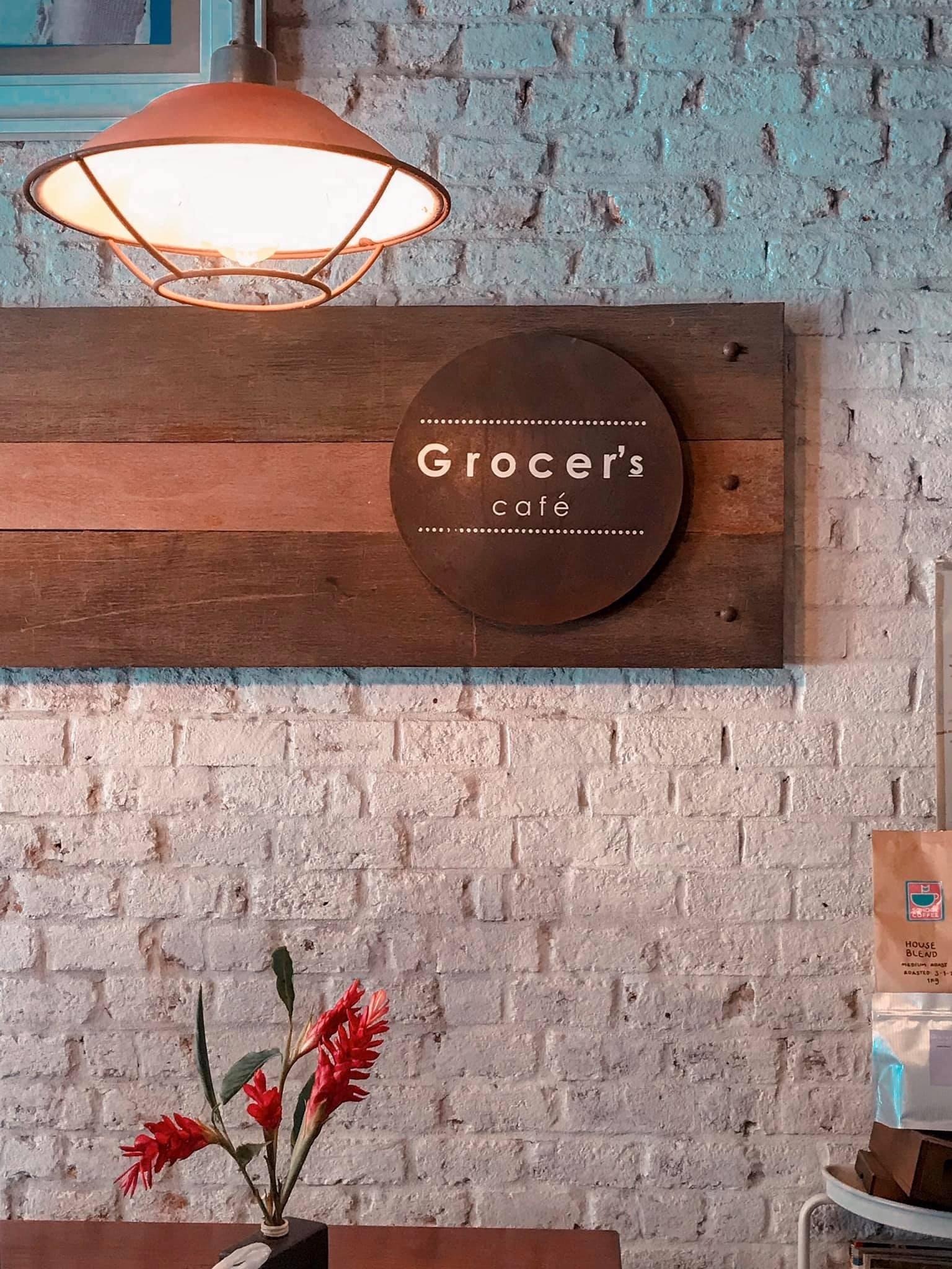 Grocer's Caf ร้านตกแต่งน่ารักๆขนาดเล็ก อาหารอร่อย กาแฟดี มีเมนูให้เลือกเยอะมวากกกก 10/10