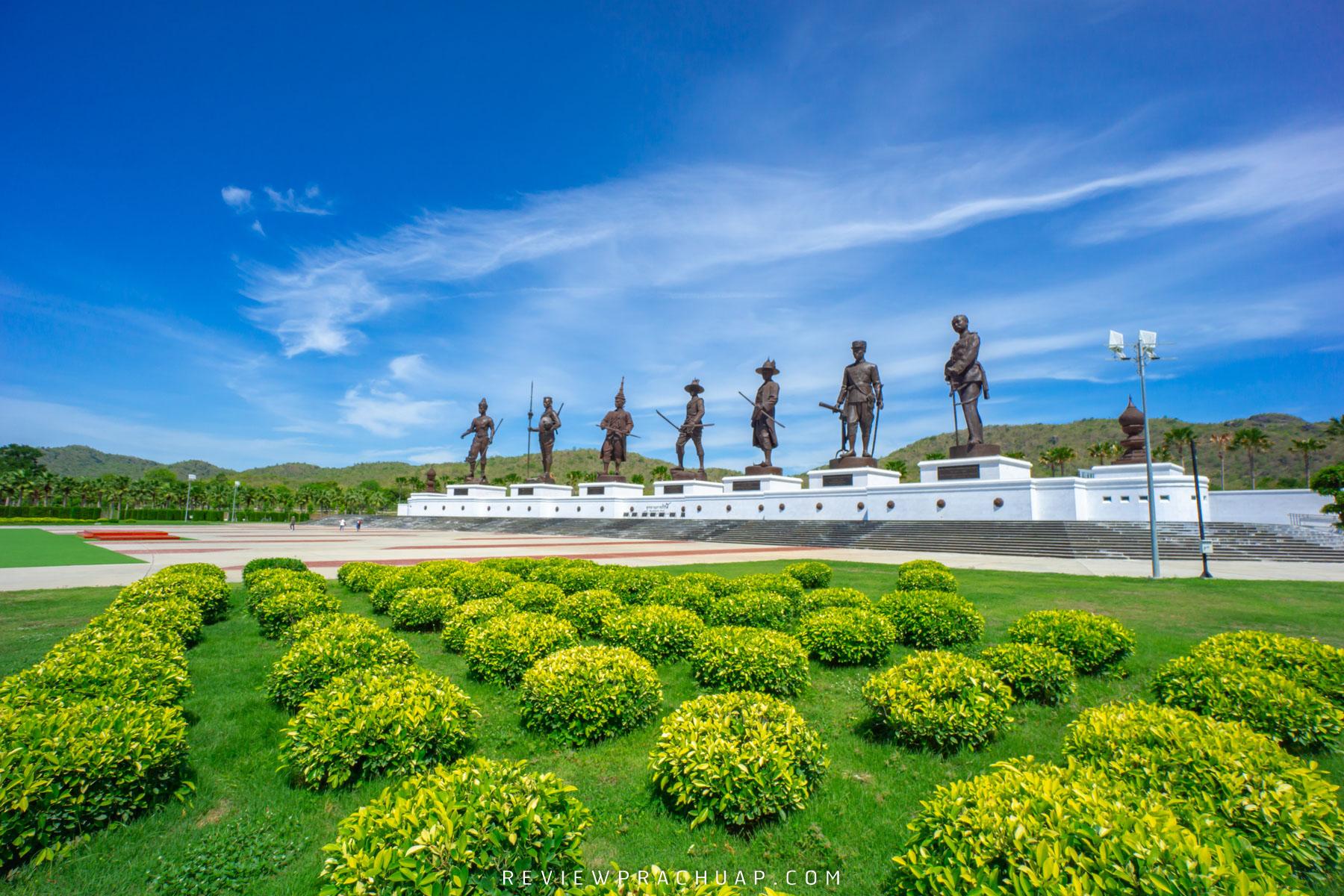 อุทยานราชภักดิ์ อุทยานประวัติศาสตร์ชาติไทยแวะไปชมประติมากรรมรูปปั้นของพระมหากษัตริย์พระองค์ต่างๆกันได้เลย